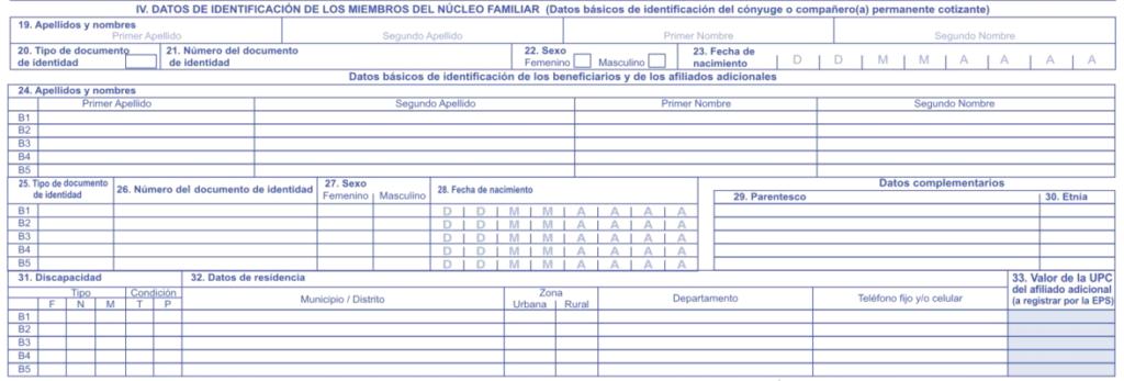beneficiarios formulario
