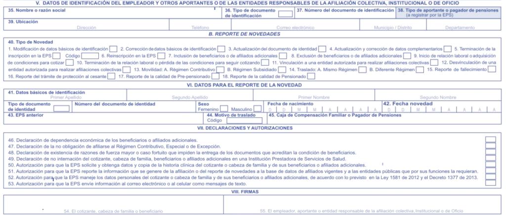 empledor formulario afiliacion
